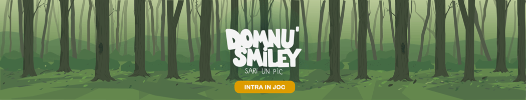 Domnu' Smiley sari un pic